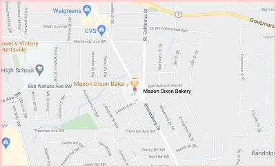 Mason Dixon BakeryMap