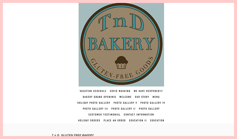 T n D Bakery