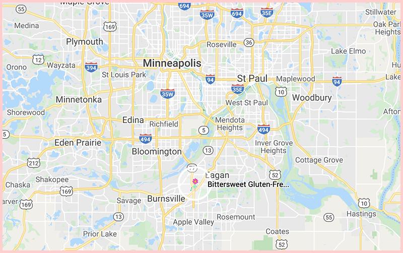 Bittersweet Glutenmap