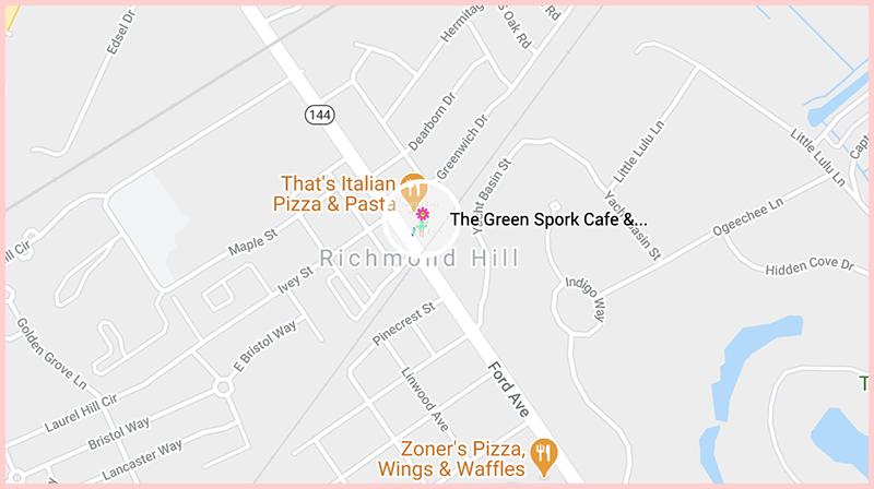The Green Spork CafeMap