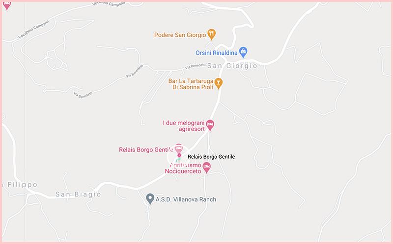 Relais Borgo GentileMap