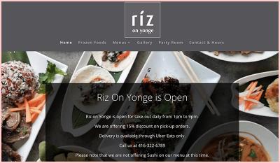 Riz on Yonge Restaurant